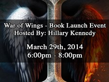 War of Wings - Book Launch Event!